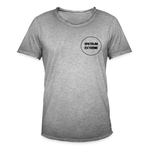 Front white Tee - Men's Vintage T-Shirt