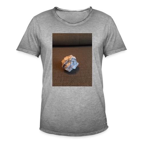 Jeg skal lave et projekt i billedkunst - Herre vintage T-shirt