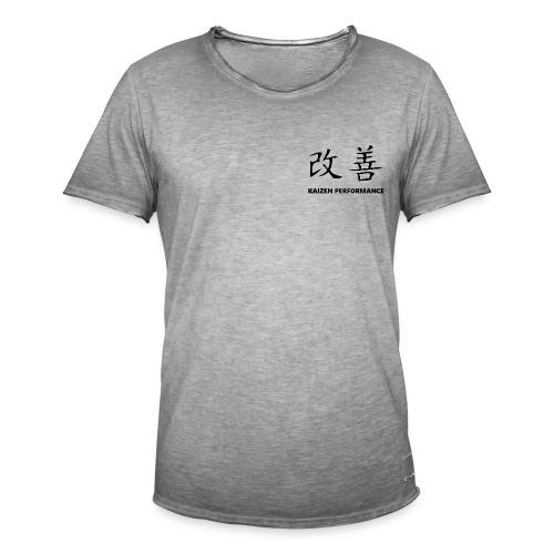 Kaizen Performance Basic Tee - Men's Vintage T-Shirt