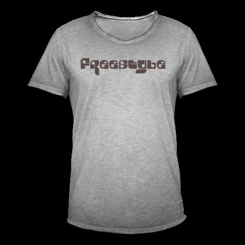 Freestyle Collection - Vintage-T-skjorte for menn