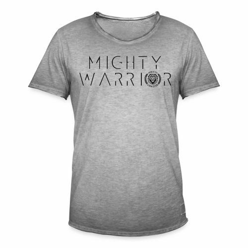 416_mighty_worrior - Männer Vintage T-Shirt