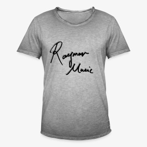 Exclusive Signed White Edition - Vintage-T-skjorte for menn