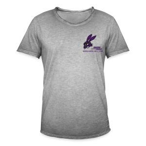 SnowRabbit - Männer Vintage T-Shirt