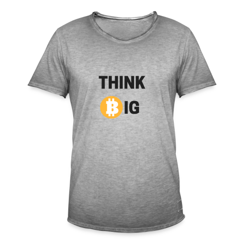 Think Big - Männer Vintage T-Shirt
