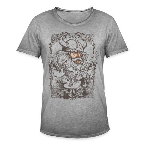 fashion design Maghul - T-shirt vintage Homme
