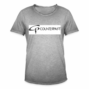 Counterpart Logo b on w - Männer Vintage T-Shirt