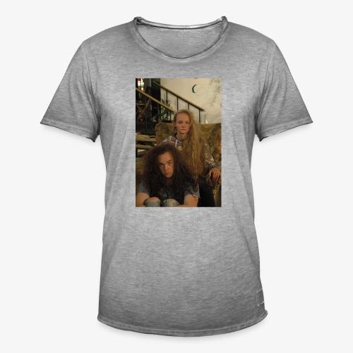 hair - Mannen Vintage T-shirt