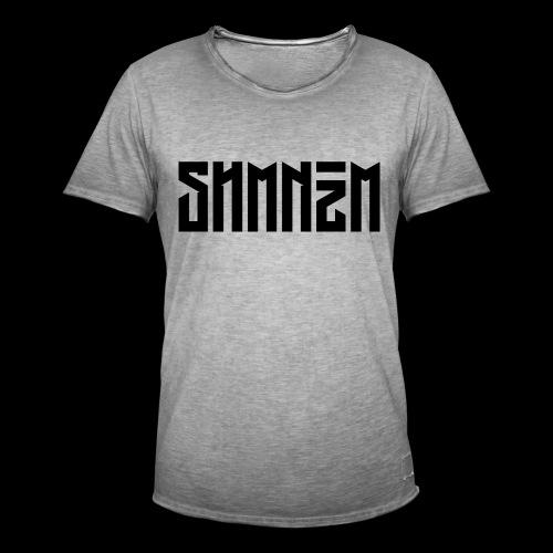 SHMNzM Basic - Maglietta vintage da uomo