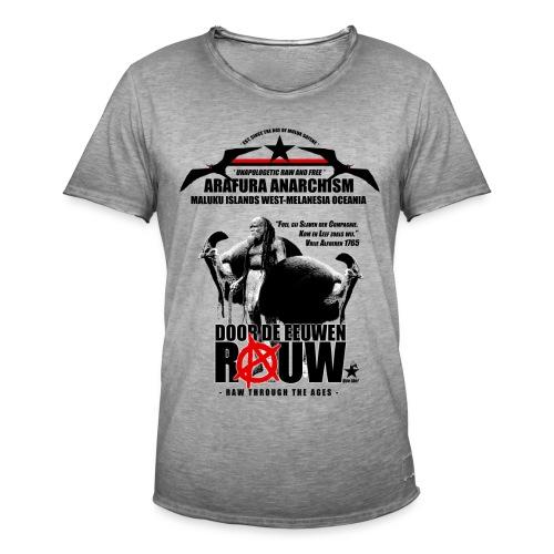 Arafura Anarchism - Mannen Vintage T-shirt