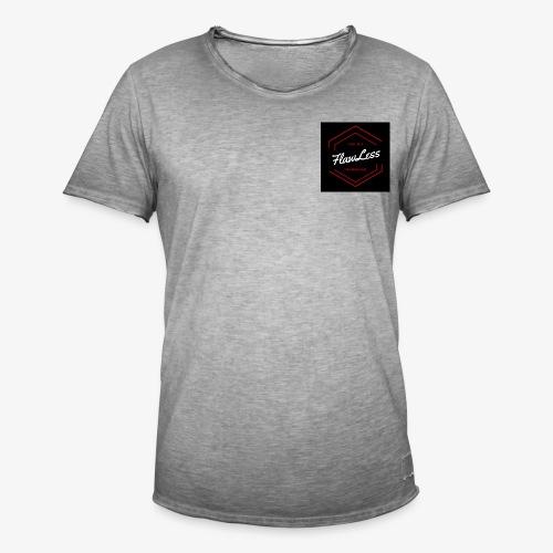 FlawLess Casual - Männer Vintage T-Shirt