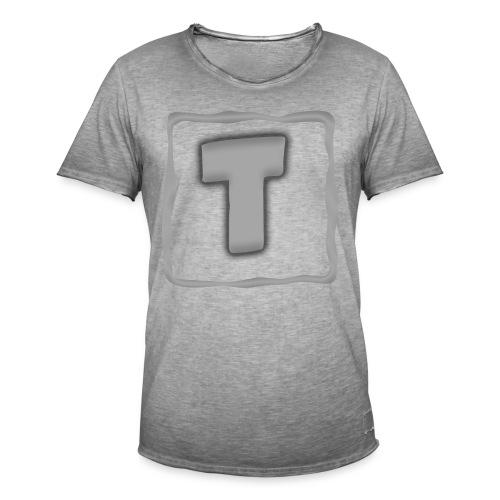 Logo Tuber - Männer Vintage T-Shirt