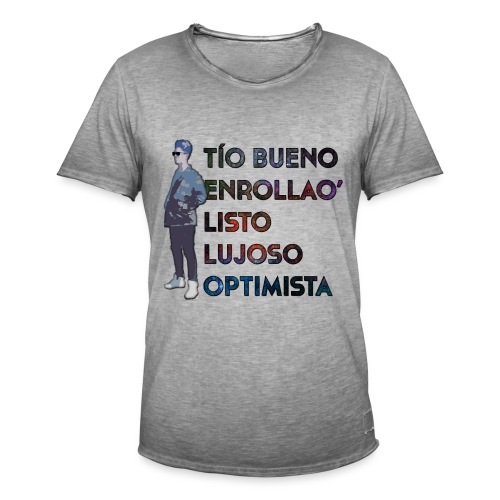 Camiseta Tello Cumple - Camiseta vintage hombre