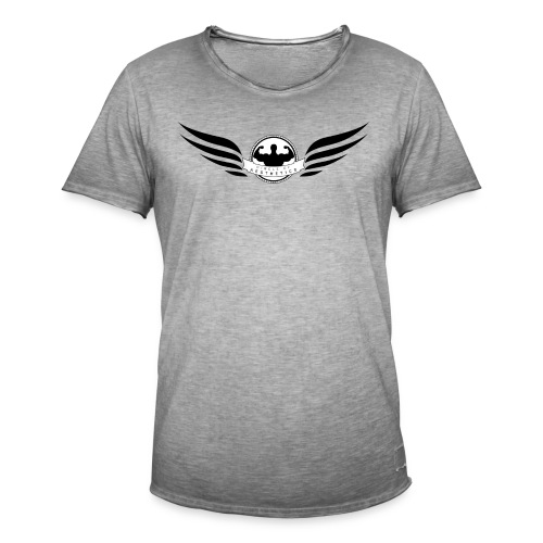Circle of Aesthetics Wings. - Men's Vintage T-Shirt