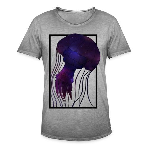 Cosmic Wave - Männer Vintage T-Shirt