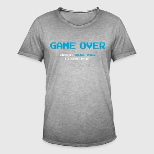 Game Over - Camiseta vintage hombre