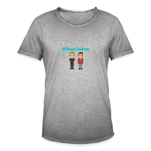 #FieseZeiten Merch - Männer Vintage T-Shirt