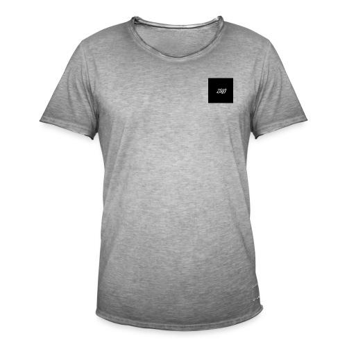 Zad logo 1 - T-shirt vintage Homme