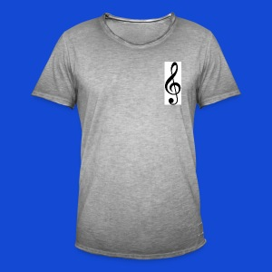 musical - Camiseta vintage hombre