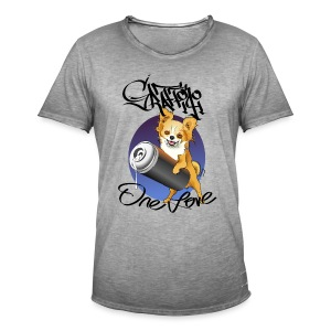 Chihuahua Graffiti one love - Camiseta vintage hombre