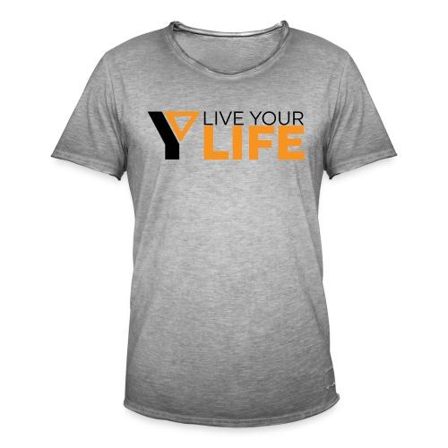 Original LiveYourLife - Männer Vintage T-Shirt