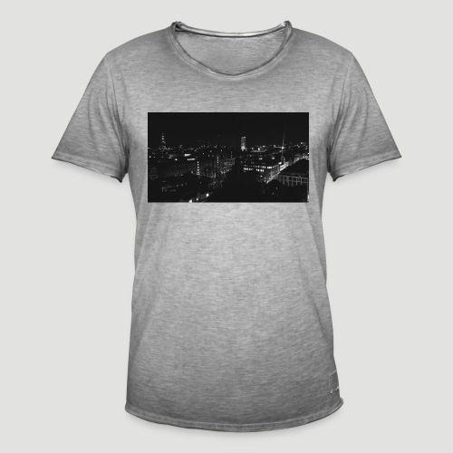 Londres night city - Camiseta vintage hombre
