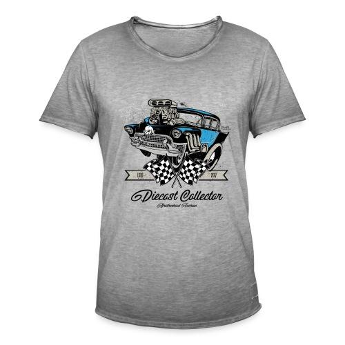 01 HW BrotherHood Logo DieCast Collector - Men's Vintage T-Shirt