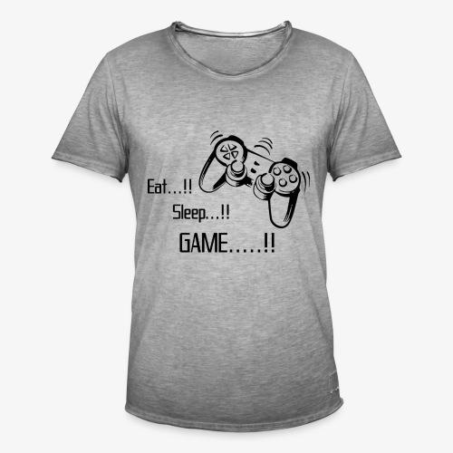 eat sleep game joy pad - Men's Vintage T-Shirt