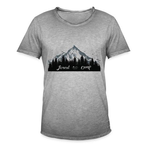 foresta - Maglietta vintage da uomo