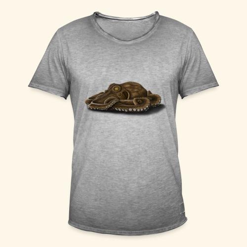 Oktopus - Männer Vintage T-Shirt