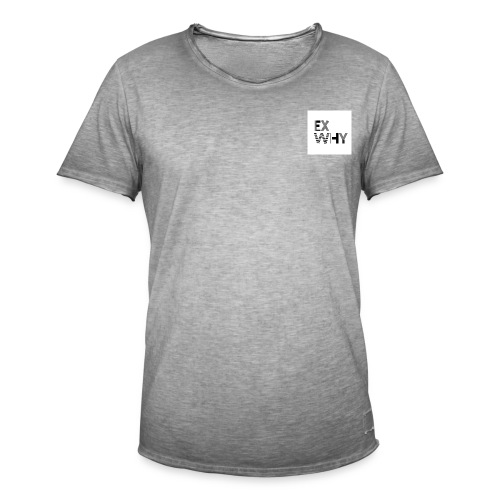 EX WHY logo - Men's Vintage T-Shirt