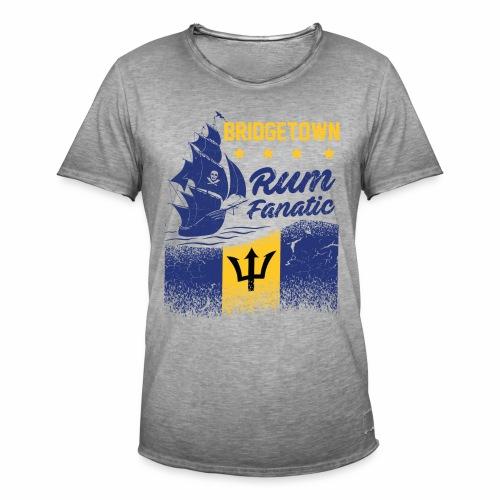 T-shirt Rum Fanatic - Bridgetown - Barbados - Koszulka męska vintage