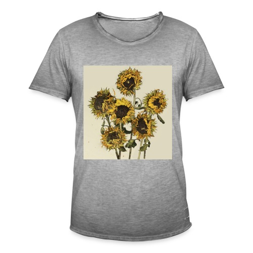 Sunflowers - Men's Vintage T-Shirt