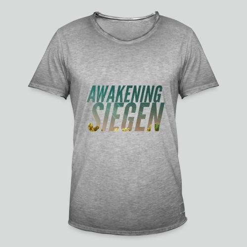 Awakening Siegen Logo - Männer Vintage T-Shirt