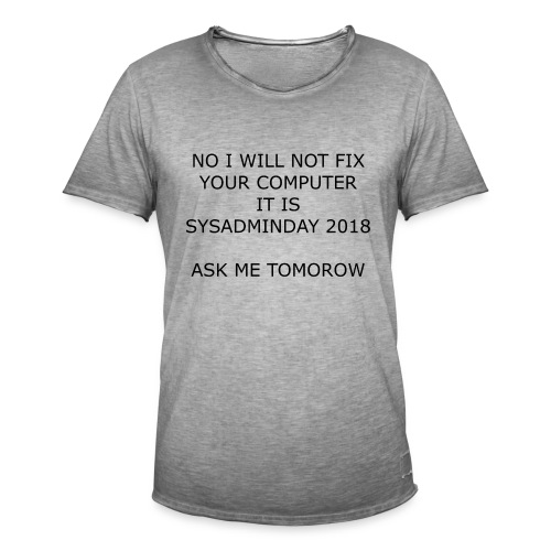 fixpc - Men's Vintage T-Shirt