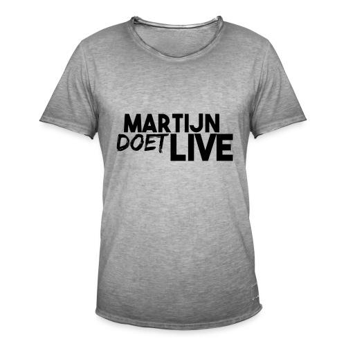 MartijnDoetLive - Mannen Vintage T-shirt