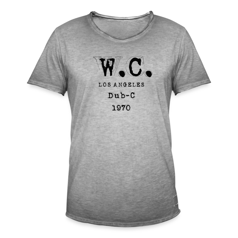 LA Collection - Vintage-T-skjorte for menn