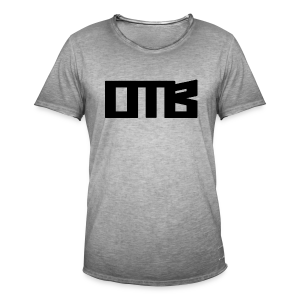 OTB Logo Black - Men's Vintage T-Shirt