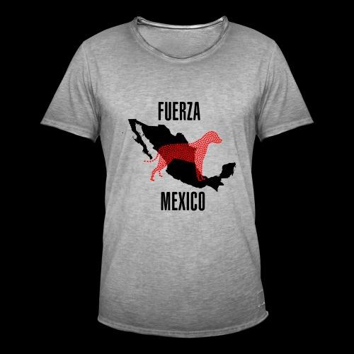 FUERZA MEXICO - Camiseta vintage hombre