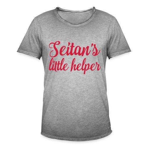 Seitan's Little Helper - Men's Vintage T-Shirt