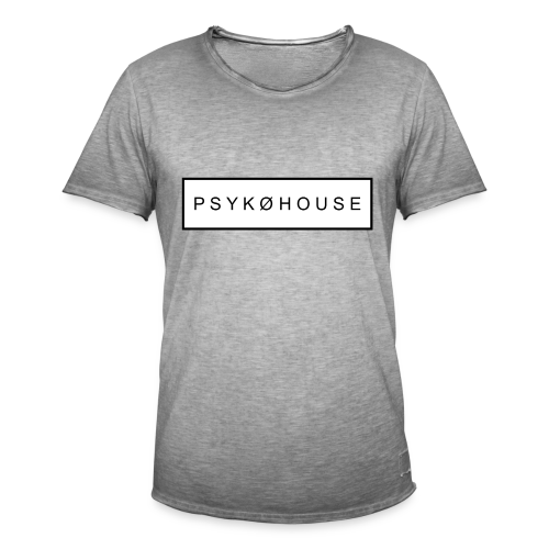 PSYKO HOUSE - Men's Vintage T-Shirt