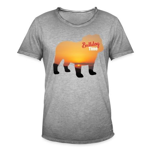 Bulldog Summer Time - Camiseta vintage hombre