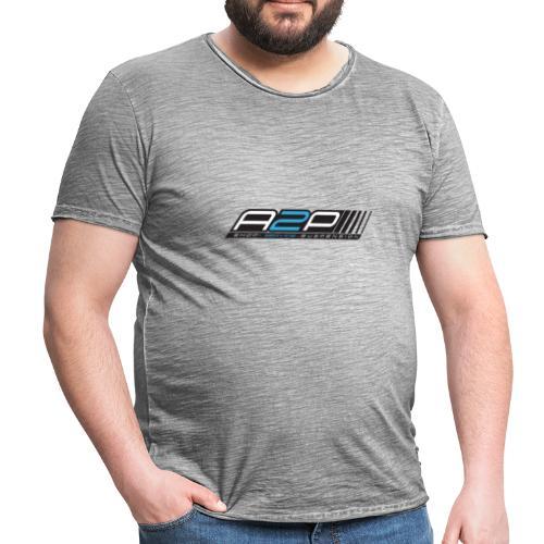 LOGO A2P SUSP - T-shirt vintage Homme