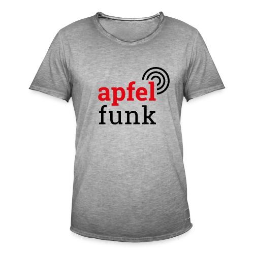 Apfelfunk Edition - Männer Vintage T-Shirt