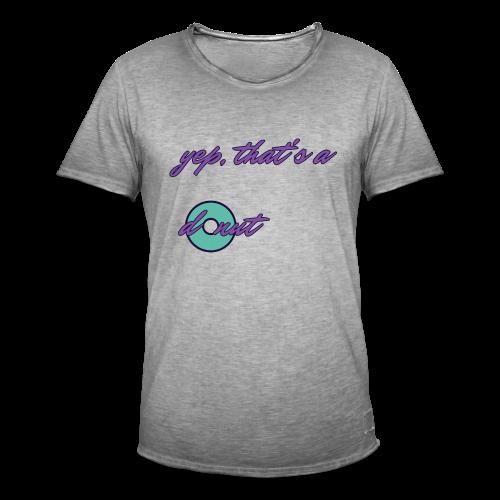 donutrash - Men's Vintage T-Shirt