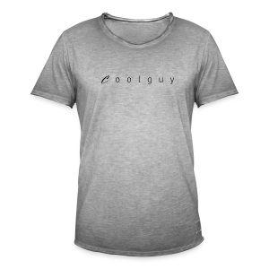 coolguy Collection - Vintage-T-skjorte for menn