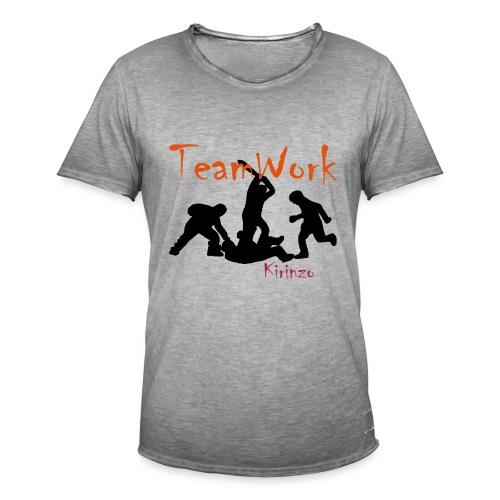 team work - T-shirt vintage Homme