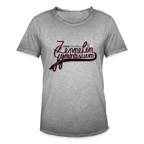 Inoffizielle Schulkleidung - Männer Vintage T-Shirt