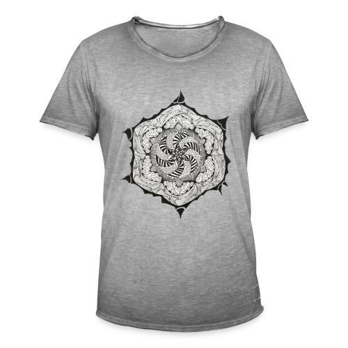 Doodle Stern - Männer Vintage T-Shirt