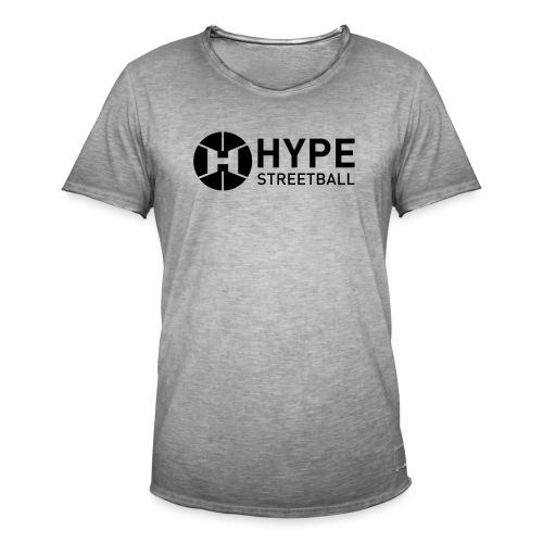 DC HYPE 001 Logo Official FINAL Black HORI - Men's Vintage T-Shirt