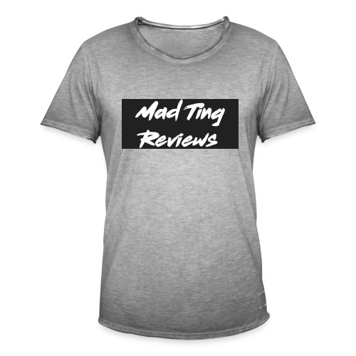 Mad Ting Reviews OG clothing Logo - Men's Vintage T-Shirt